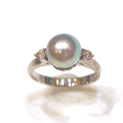 [ ] 真珠指輪