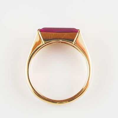 [ ] 赤色透明石指輪